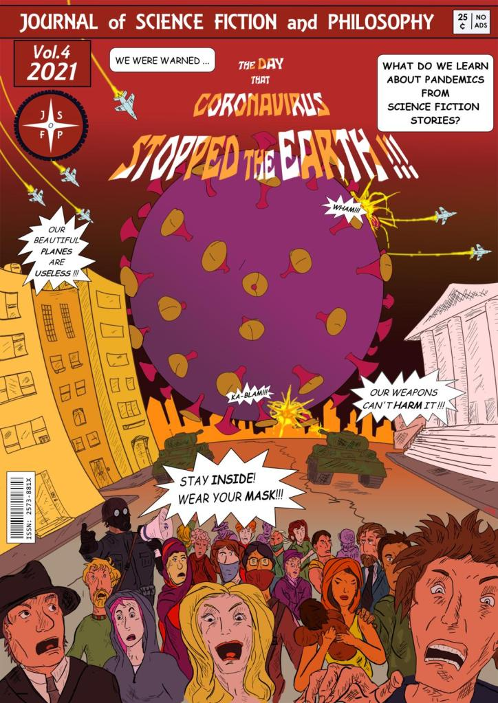 Vol. 4 Cover: The Day that Coronavirus Stopped the Earth!